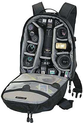 backpack camera