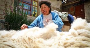 fair trade photos of sur andino CIAP alpaca peru by fair trade connection