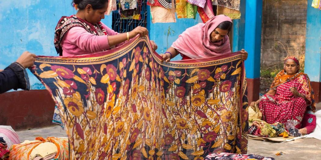 fair trade photos of hajiganj sari unit prokritee bangladesh by fair trade connection